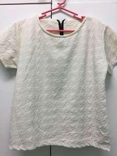 White elegant top