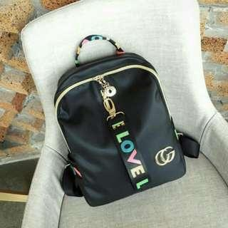 [ READY STOCK ] LOVE GG NYLON BACKPACK