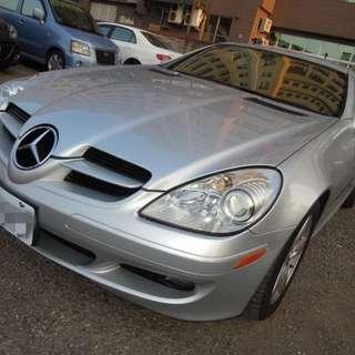 2006年 白 賓士SLK280 開價超便宜!!挑戰全台最低價