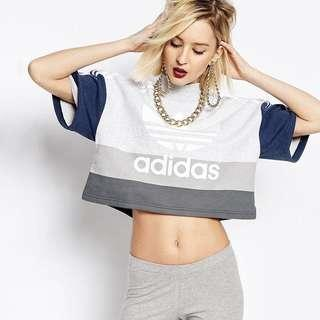 🚚 Adidas Athletics Boxy Crop Top