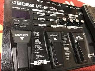 Boss ME-25 ( Multi Effects Pedal )