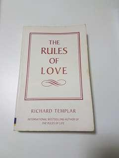 The Rules of Love by Richard Templar