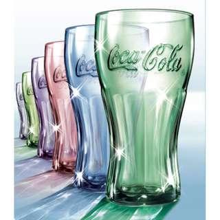 Coca Cola classic glass set