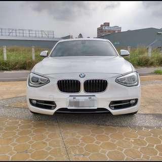 2012年 白 BMW 118I 開價超便宜!!挑戰全台最低價