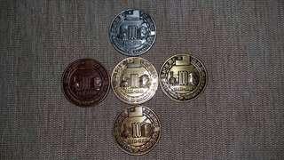 🚚 鐵路一百週年紀念幣