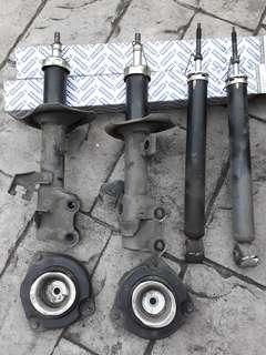 Absorbers Front L/R and Rear Shock Absorber for Grand Livina