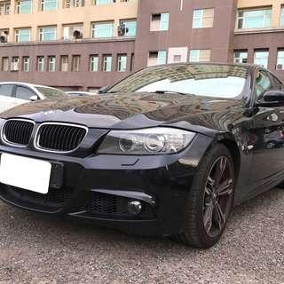 2011年 黑 BMW318d 2.0 柴 跑6萬 開價超便宜!!挑戰全台最低價