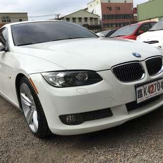 2008年 白 BMW 335i 3.0L 開價超便宜!!挑戰全台最低價