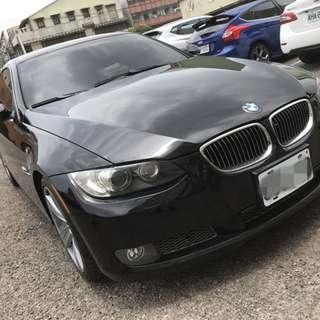 2008年 黑 BMW 335i COUPE 開價超便宜!!挑戰全台最低價