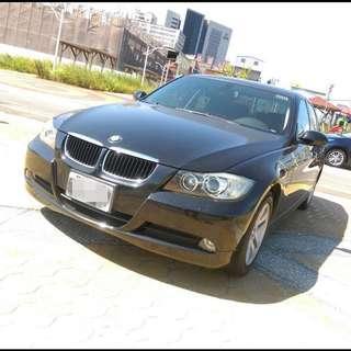 2008年 黑 BMW 320I 開價超便宜!!挑戰全台最低價