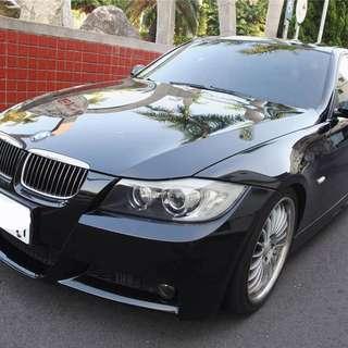 2007年 黑 BMW 320i M POWER包 開價超便宜!!挑戰全台最低價