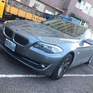 2011年 灰 BMW 520D 2.0L 柴油 開價超便宜!!挑戰全台最低價