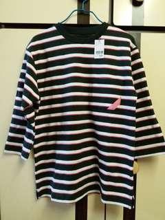 Design Tshirts Store graniph 橫間上衣