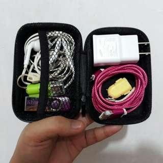 Hard Case Organizer of Charger/Headset/Gadgets/Accessories