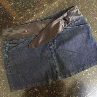 Mango jeans miniskirt