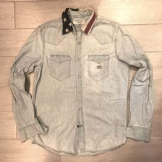 95/% New Ralph Lauren Denim and Supply shirt Size M