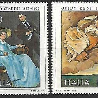 意大利1975斯帕迪尼繪畫2全新