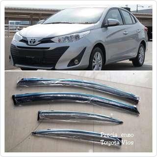 Toyota Vios (2014 - 2018) Door Visor