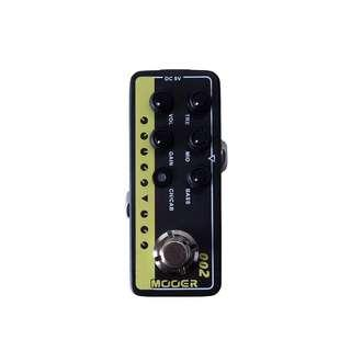 Mooer UK Gold 900 Preamp Guitar Effects Pedal