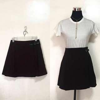 UNIQLO Dark Maroon Wrap Skirt