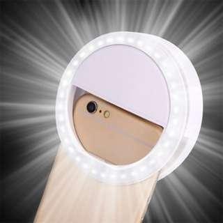 36 LED Selfie Ring Light (free battery)