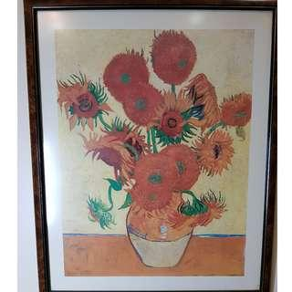 Wall painting - Flowers