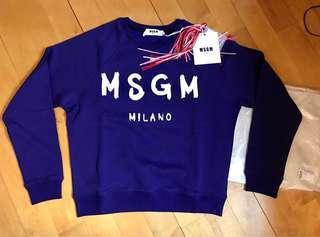 MSGM 新色 (靚色- 紫藍色)Sweater