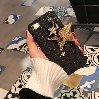 Glitter stars casing for iPhone 7 Plus