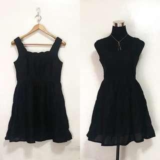 Elegant Black Sleeveless Dress