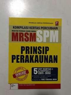 MRSM Prinsip Perakaunan (Past Years)