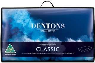 澳洲健康枕頭專家 Dentons Pillow