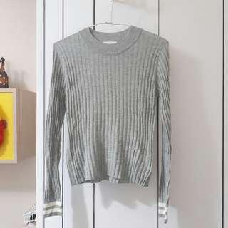 🚚 E hyphen羅紋針織上衣