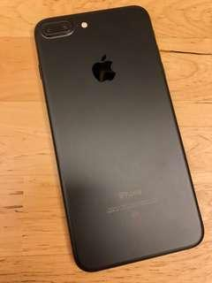 iPhone7 Plus 128GB black