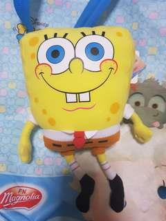 Sponge bob soft toy