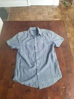 Old navy short sleeve button up