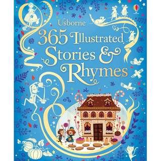 🚚 (BN) Usborne: 365 Illustrated Stories and Rhymes