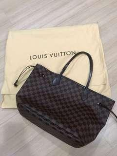 Authentic brand new Louis Vuitton neverful
