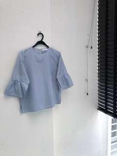 ShopAtVelvet Flared Sleeve Top