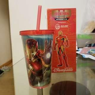 香港限量版 Disney鐵甲奇俠 杯 500ml Ironman Tumbler 100%REAL 100%NEW