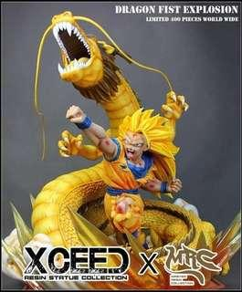 Xceed 1:4 Dragon Fist Explosion statue