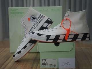 《SOLD》12US Converse x Off-white Chuck '70