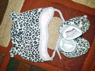 H&M topi dan sepatu bayi