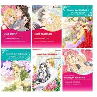Paket Ebook Komik Harlequin Terjemahan 46