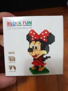 Nano Block Minnie Mouse