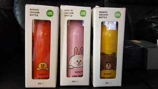 NONOO LINE FRIEND.thermal.flask stainless steel