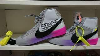 Nike blazer mid off-white ow queen the ten