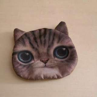 Cat designed coin pouch