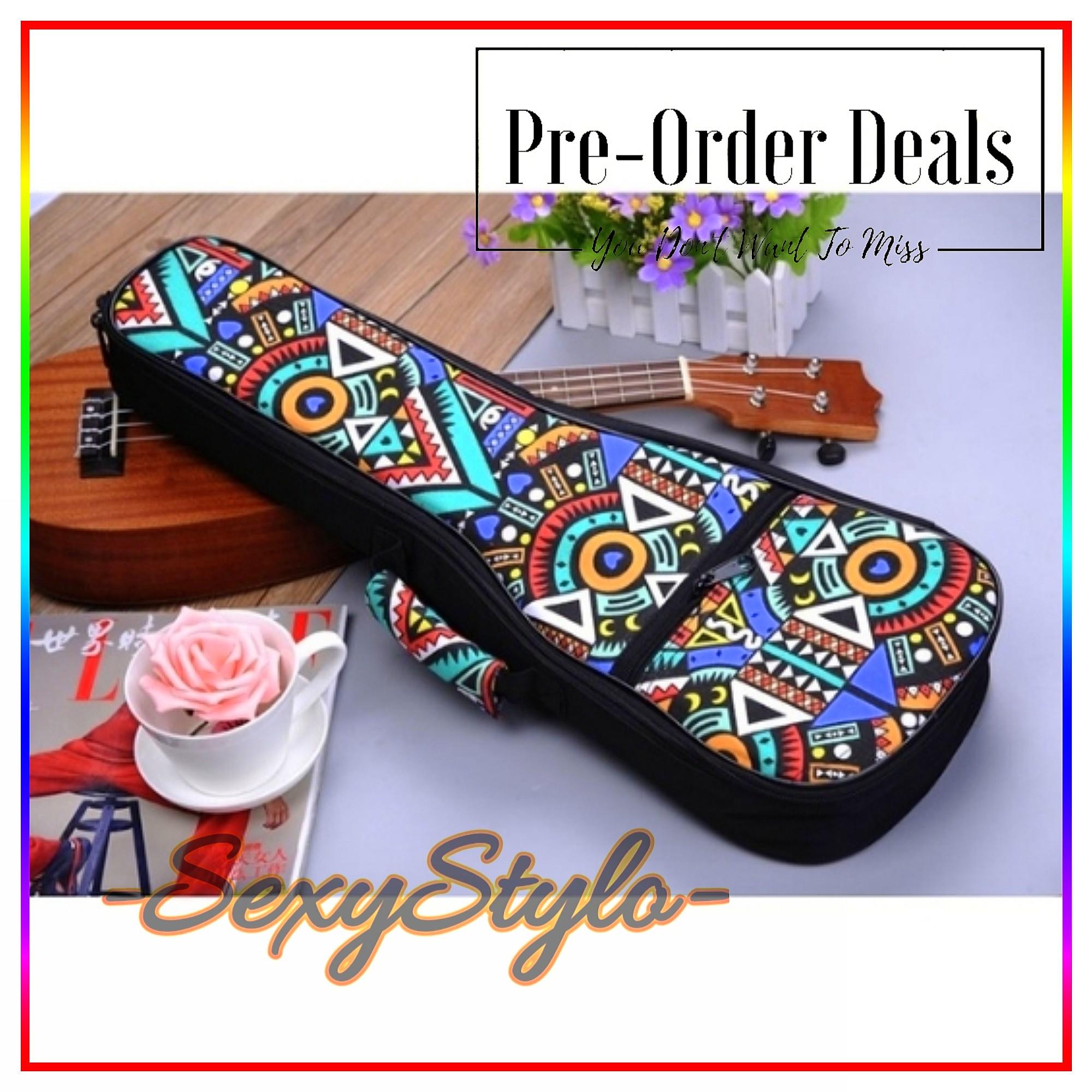 0218e2dcbc3 #79🎸▫📦▫[🅿re🅾rder]▫📦▫🎸21 23 26 Cotton Padded Ukulele Gig Bag Hawaiian  Ukulele Case Ukulele Hard Case, Music & Media, Music Accessories on  Carousell