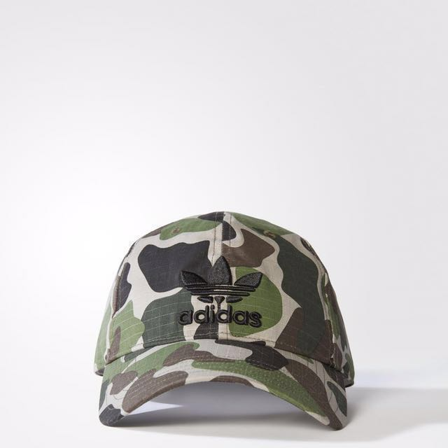 af43ad26 Adidas Originals Camo Cap, Men's Fashion, Accessories, Caps & Hats ...