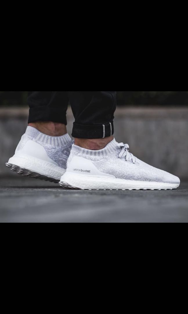 competitive price 14783 20f86 Adidas Ultraboost Uncaged White, Mens Fashion, Footwear, Sneakers on  Carousell